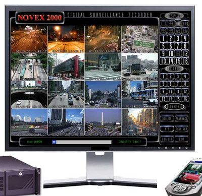 NOVEX2000 DVR DESKTOP SYSTEM